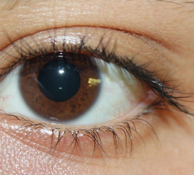 Brązowy kolor oczu